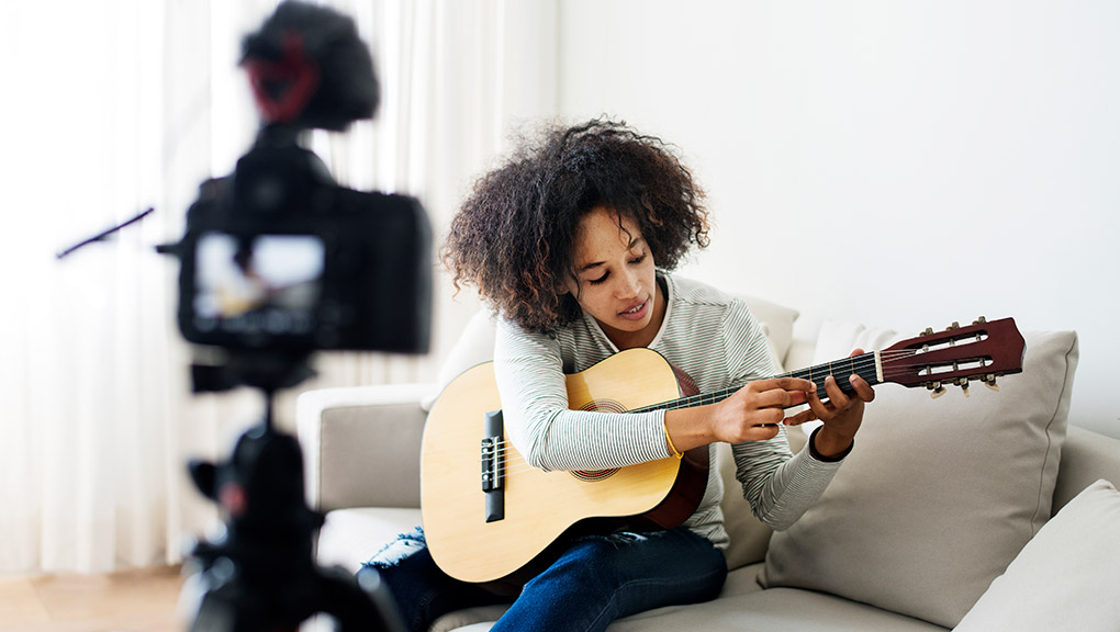 Music Exams Guitar on Camera