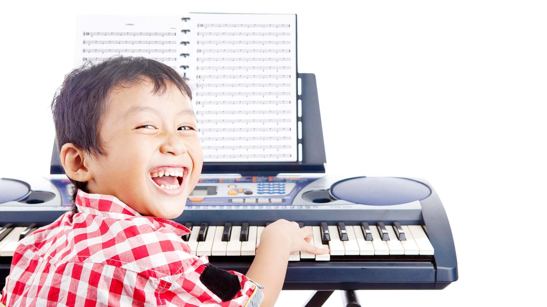 Music Exams Boy Piano